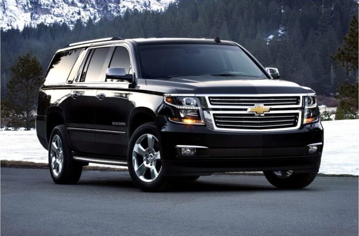 Chevy Suburban Luxury SUV